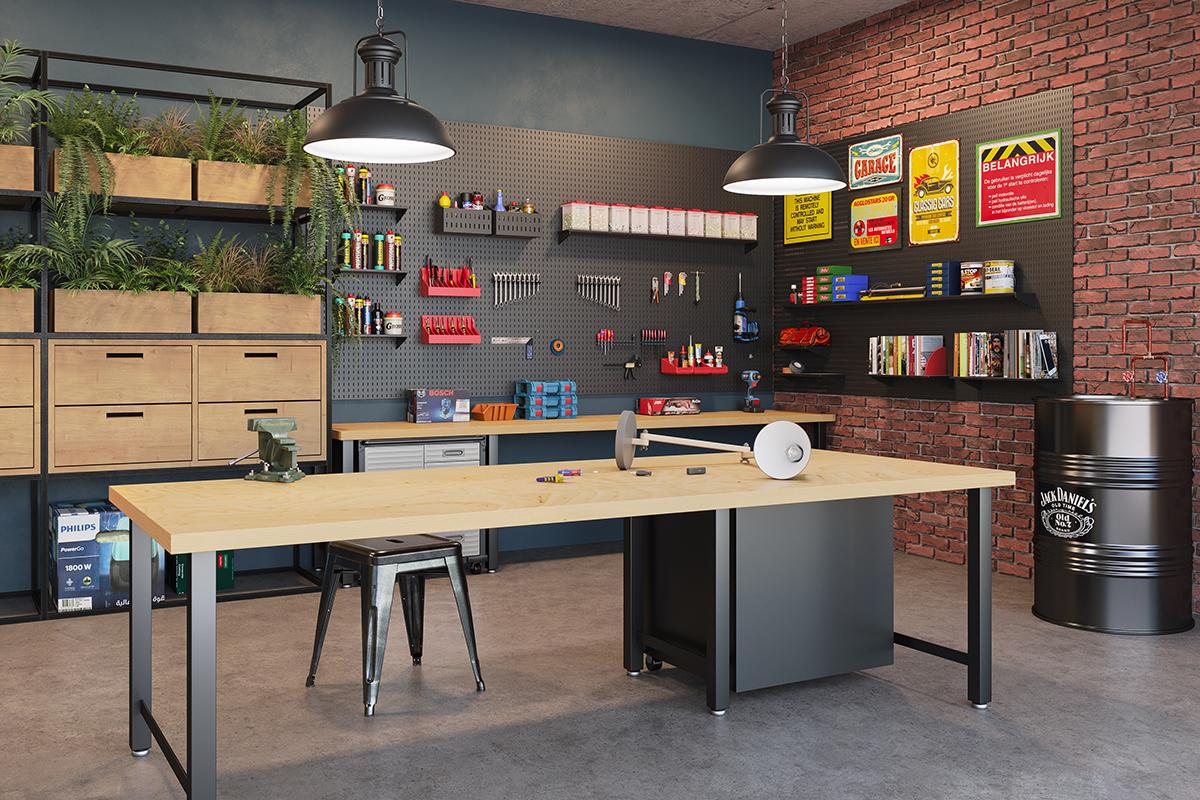 Verdes e Lagos - Work Space