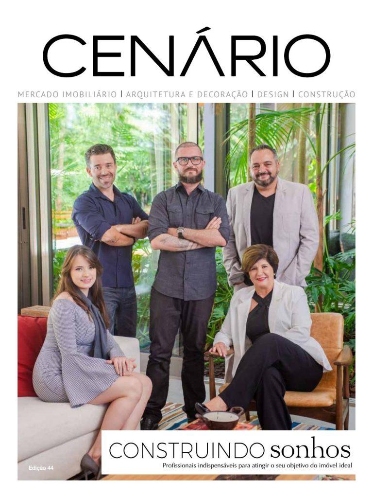 Visconde Construtora Participa de Edição da Revista Cenário Sobre Construir Sonhos