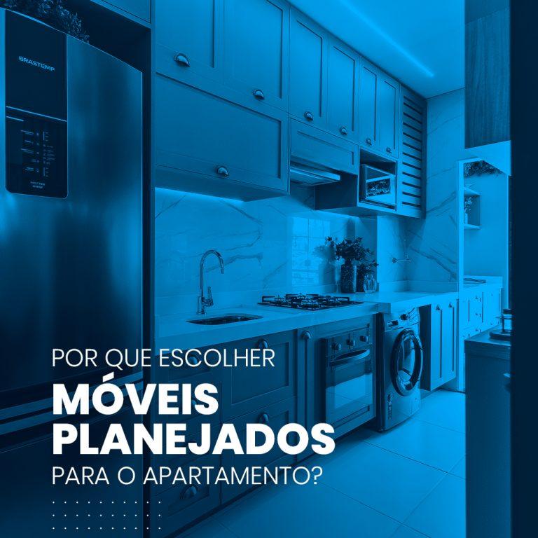 Por que escolher móveis planejados para o apartamento?