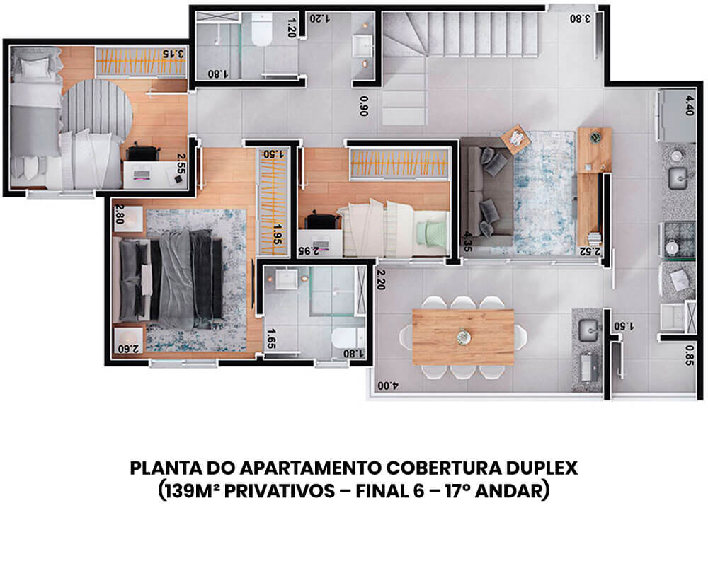 planta-londres-duplex-139m